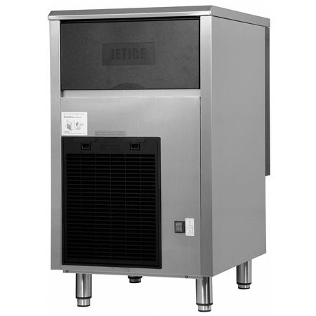 Ice Machine,  20 lb. Stainless Steel/Black