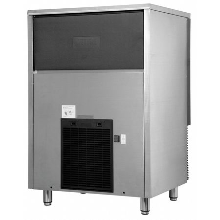 Ice Machine 202 lb.,   Air Cooled Stainless Steel/Black