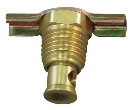 Drain Cock, Brass, MNPT, 1/8 In
