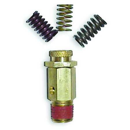 Air Safety Valve,  25 to 200 psi