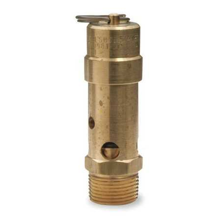 Air Safety Valve, 1 In Inlet,  125 psi