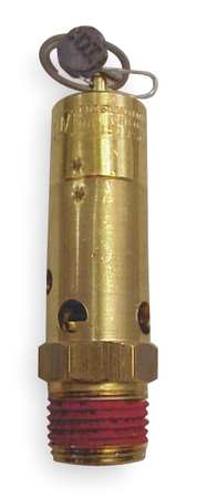 "Air Safety Valve, 1/2"" Inlet,  150 psi"