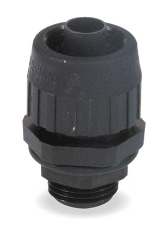 Insulated Conector, 3/8 In., Nylon, Straght