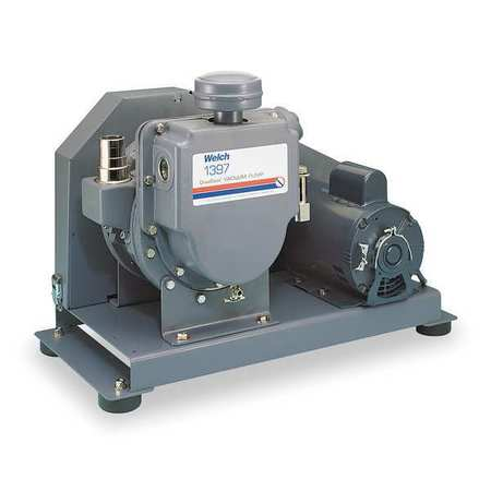 Vacuum Pump, 1 HP, 17.7 cfm, 115/230V