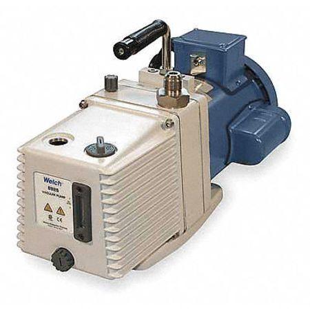 Vacuum Pump, 1/2 HP, 7.7 cfm, 115/230V