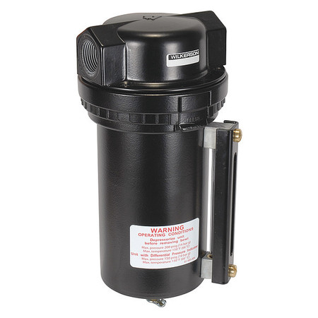 Compressed Air Filter, 200 psi, 4.8 In. W