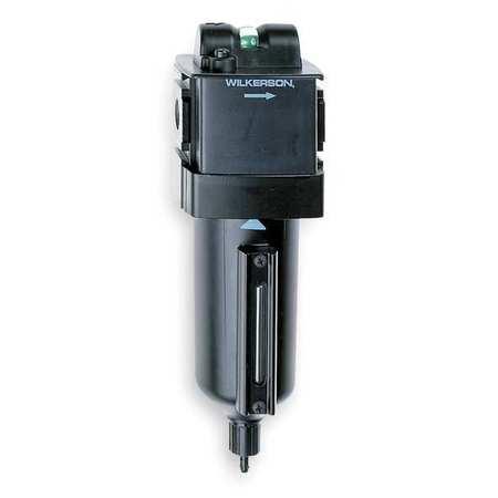 Pneumatic Oil Filter, 1/4 In. NPT, 26 cfm