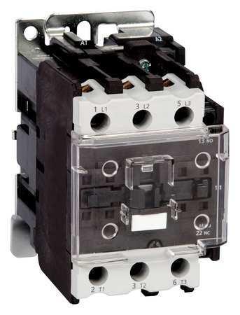 IEC Magnetc Cntactr, 24VAC, 32A, 1NC/1NO
