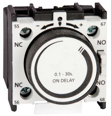 IEC Timer, Off Delay, .1-30Sec, 1NO/1NC