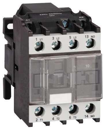 IEC Magnetic Contactor, 120VAC, 9A, 1NO, 3P