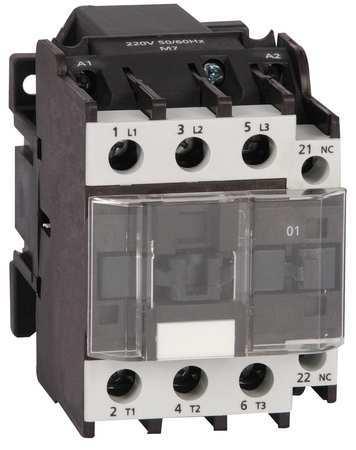 IEC Magnetic Contactor, 24VAC, 27A, 1NO