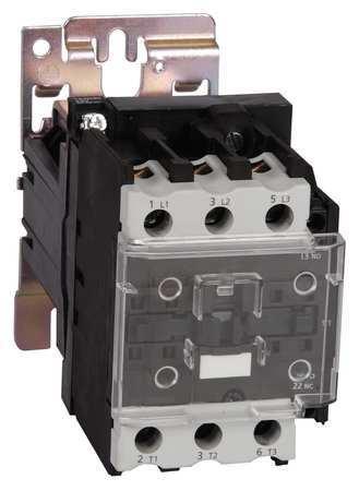 24VDC Non-Reversing IEC Magnetic Contactor 3P 50A