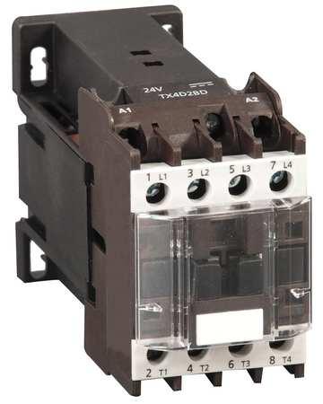 IEC Magnetic Contactor, Coil 24VDC, 12A