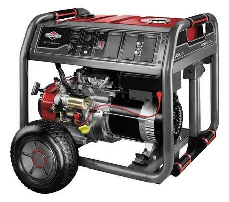 8000W Gas Portable Generator 120/240VAC Electric/Recoil