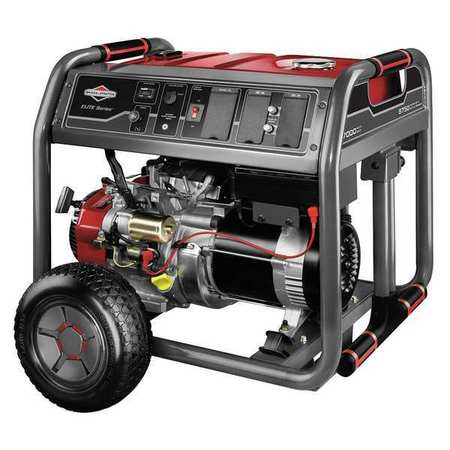 7000W Gas Portable Generator 120/240VAC Electric/Recoil
