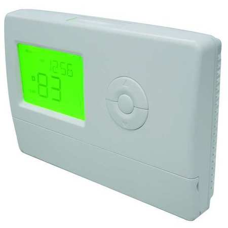 Thermostat,  7 Day Programmable,  Stages 2 Heat/2 Cool