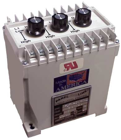 Din Mount Level Control, 3 Relay, 120VAC