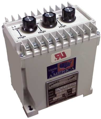 Din Mount Level Control, 3 Relay, 240VAC