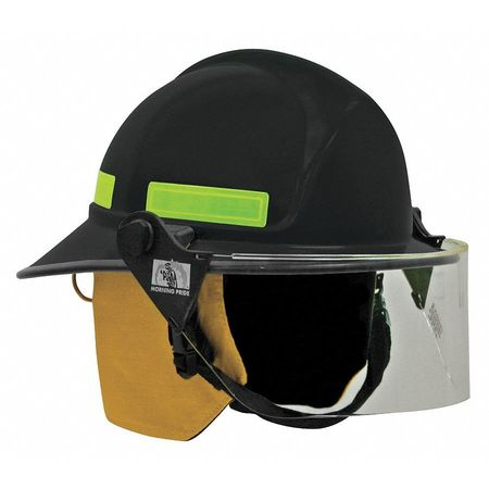 Fire Helmet, Black, Modern