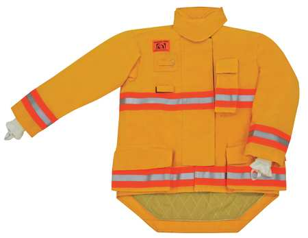 Turnout Coat,  Yellow,  Nomex(R)/Stedair 3000,  L