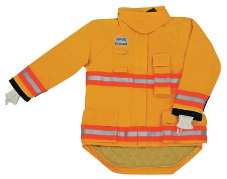 Turnout Coat,  Yellow,  Nomex(R)/Stedair 3000,  2XL