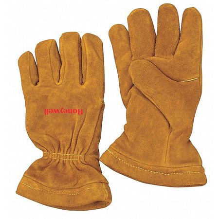 Firefighters Gloves, M, Cowhide Shell, PR