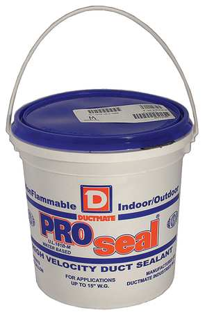 Low VOC Duct Sealant, 1 gal. , Gray