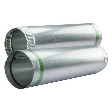 """14"""" x 5 ft. Round Duct Pipe,  24 ga. Self Sealing,  Pack of 5"""