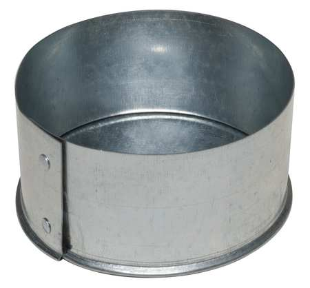 "10"" End Cap Round Duct Fitting,  26 ga."