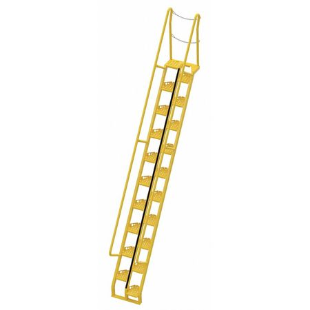 Alternating Tread Stairs, Walkthrough, 15ft. 6InH
