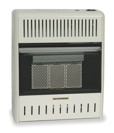 15000 BtuH Infrared Vent Free Portable Gas Heater,  LP