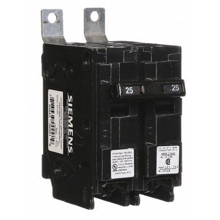 2P Standard Bolt On Circuit Breaker 25A 120/240VAC
