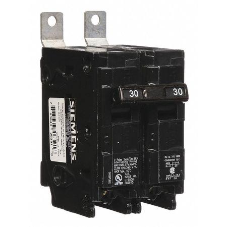 2P Standard Bolt On Circuit Breaker 30A 120/240VAC