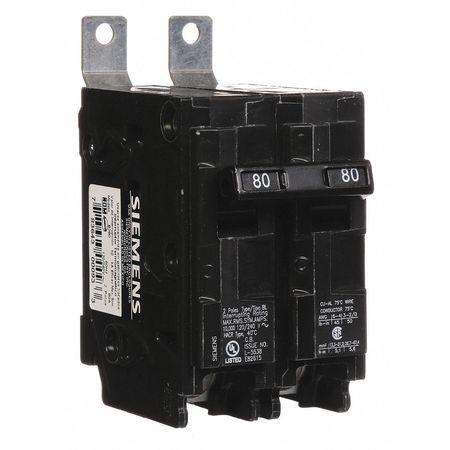 2P Standard Bolt On Circuit Breaker 80A 120/240VAC