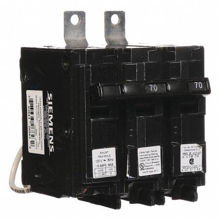 2P Shunt Trip Bolt On Circuit Breaker 70A 120/240VAC