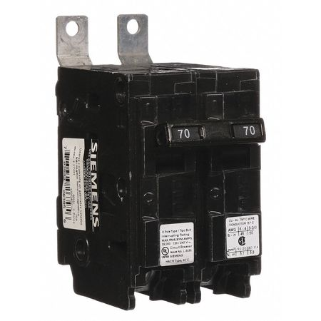 2P Standard Bolt On Circuit Breaker 70A 120/240VAC