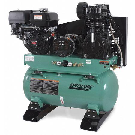 Compressor/Generator, 13HP, 30Gal, 15.7CFM