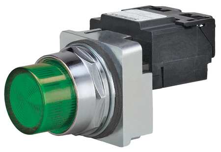 Pilot Light Complete, Incand, 480V, 30mm, GR