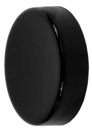 Push Button Cap, 30mm, Black, PK20