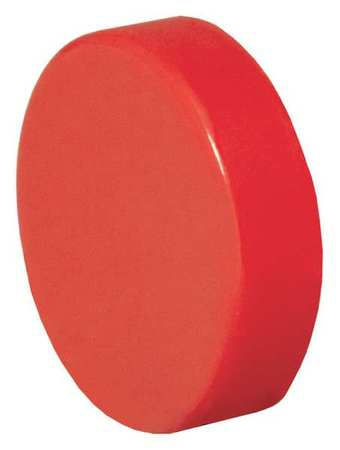 Push Button Cap, 30mm, Red, PK20