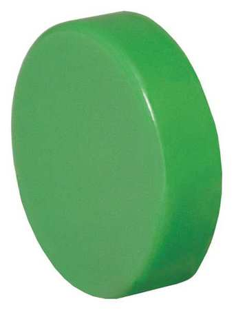 Push Button Cap, 30mm, Green, PK20