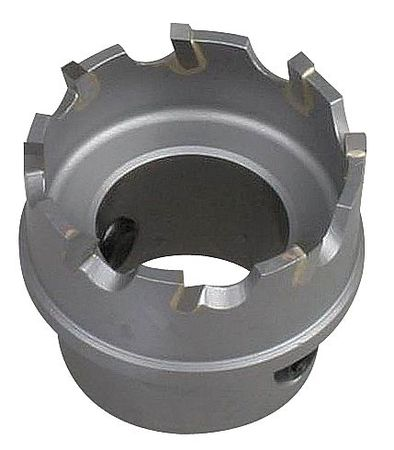 Hole Saw, 1-3/8 In Dia, Carbide