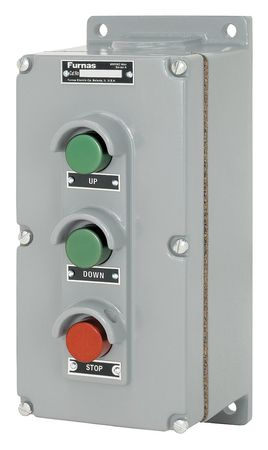 Push Button Control Station, Up/Down/Stop