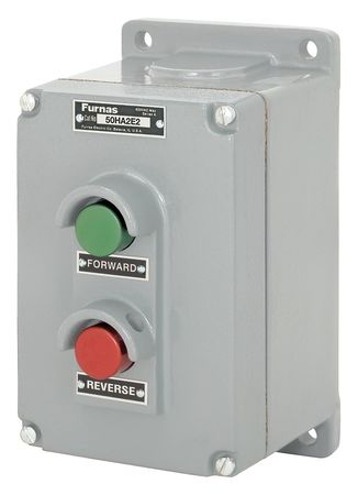 Push Button Control Station, 1NO/1NC, 38mm