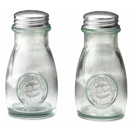 Salt and Pepper Shaker Set, 4 Oz, PK12