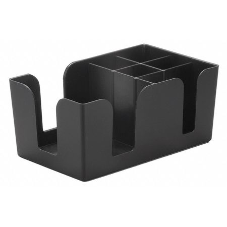 Bar Caddy,  ABS Plastic Black,  1 Compartment