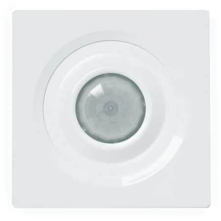 Occupancy Sensor, PIR, 2463 sq ft, White