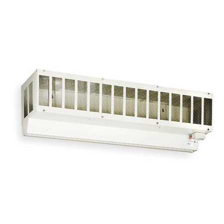 Air Curtain Cabinet, Steel, 60x12-1/2 in.