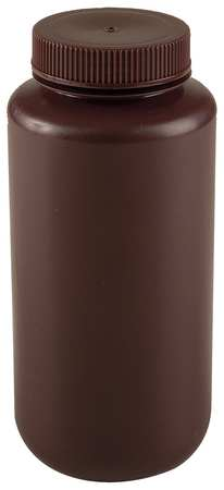 Bottle, 1000 mL, 32 Oz, Wide Mouth, PK6