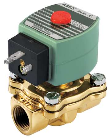 "1/2"" NPT 2-Way Air & Fuel Gas Solenoid Valve 24VAC"